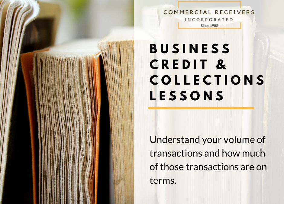 Business Credit & Collections Lessons – Transaction Volume